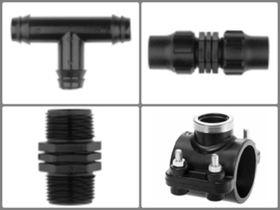 1.8 PP Fittings & Saddles (6 bar - rotational use)