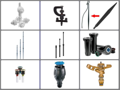 2. Sprinklers & Accessories