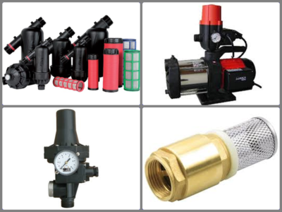 4. Filters, Pumps & Accessories