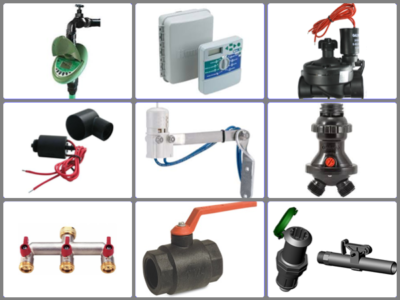 5. Irrigation Controllers & Valves